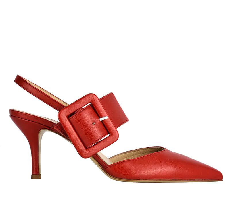 Sandalo donna rosso Formentini