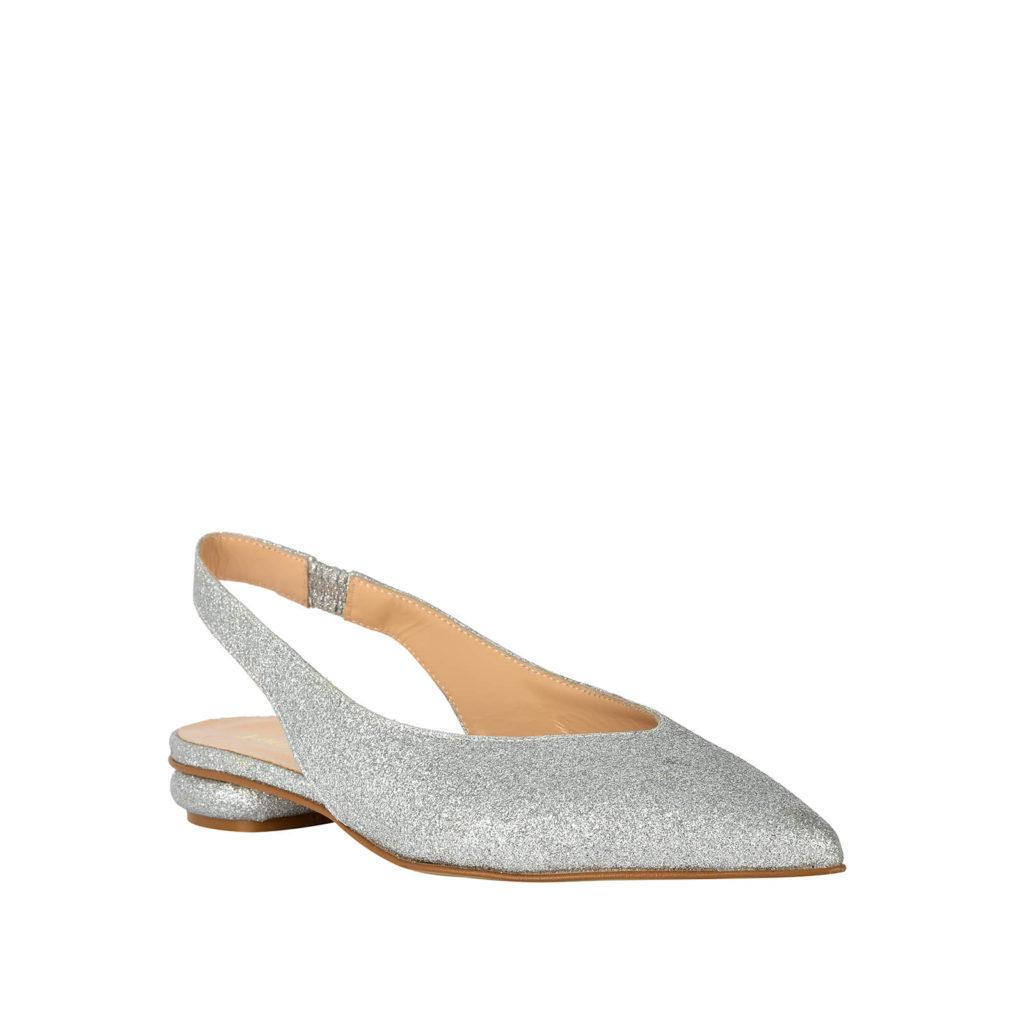 sandalo basso argento formentini