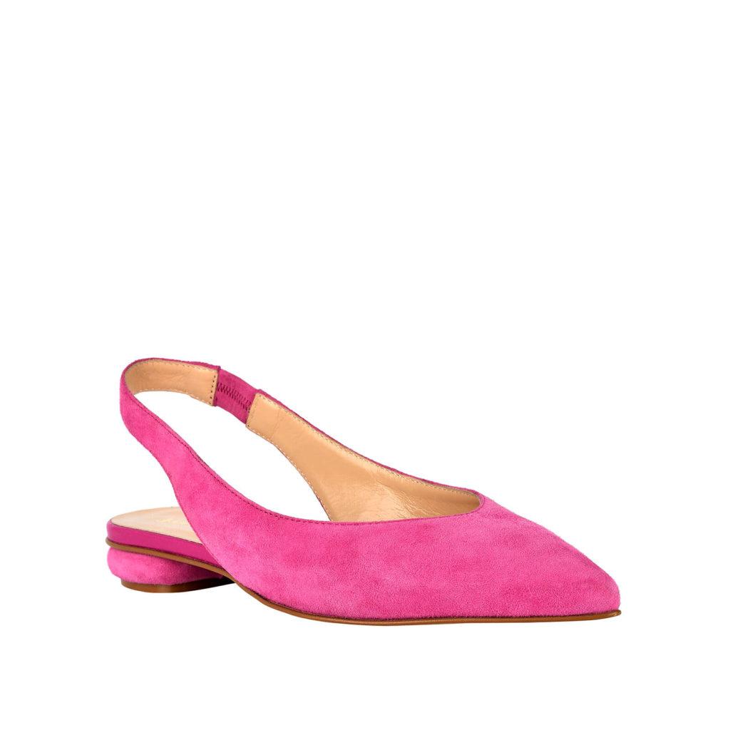 sandalo basso rosa formentini